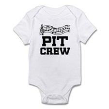 Pit Crew Marching Band Infant Bodysuit