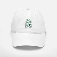 I Wear Teal for my Cousin Baseball Baseball Cap