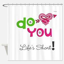 OYOOS Do You design Shower Curtain