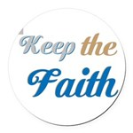 OYOOS Faith design Round Car Magnet