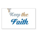 OYOOS Faith design Sticker (Rectangle 10 pk)