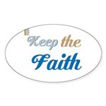 OYOOS Faith design Sticker (Oval 10 pk)