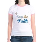 OYOOS Faith design Jr. Ringer T-Shirt