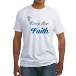 OYOOS Faith design Fitted T-Shirt