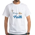 OYOOS Faith design White T-Shirt
