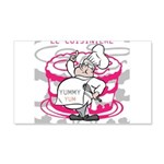 OYOOS Cook Cakes design 20x12 Wall Decal