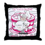 OYOOS Cook Cakes design Throw Pillow