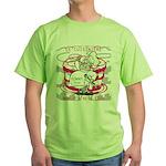OYOOS Cook Cakes design Green T-Shirt