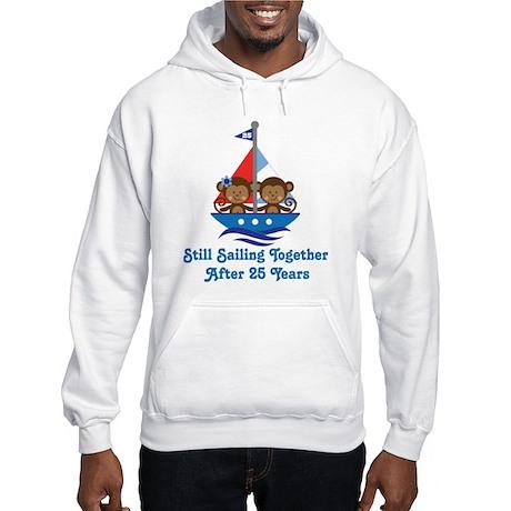 25th Anniversary Sailing Hooded Sweatshirt