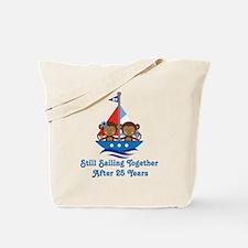 25th Anniversary Sailing Tote Bag