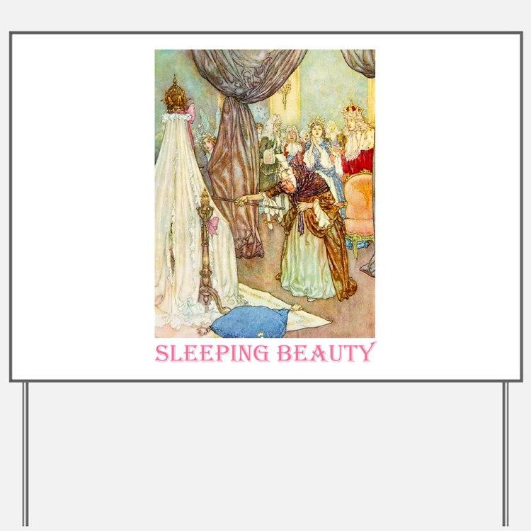 Sleeping Beauty Yard Sign