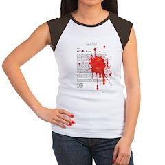Re: Your Brains Women's Cap Sleeve T-Shirt