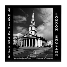 St Martin in the Field Tile Coaster