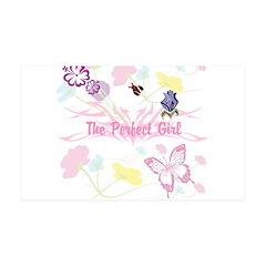 OYOOS Girls flower design Wall Decal