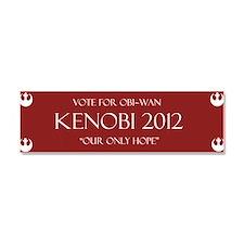 Kenobi 2012 Car Magnet 10 x 3