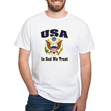 USA-WHT T-Shirt