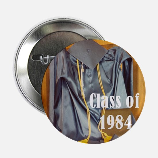 """Class of 1984 2.25"""" Button (10 pack)"""
