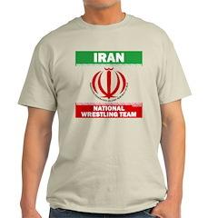 Iran National Wrestling Team (white) Light T-Shirt