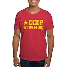CCCP Wrestling T-Shirt w/ star