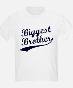 Biggest Brother Navy T-Shirt