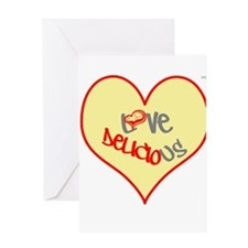 OYOOS Love Heart design Greeting Card