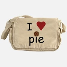 I Love Pie Messenger Bag