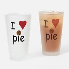 I Love Pie Drinking Glass