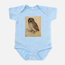 Durer The Little Owl Infant Bodysuit
