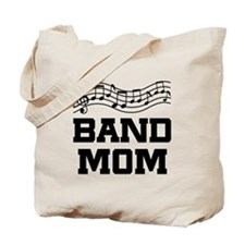 Band Mom Staff Tote Bag
