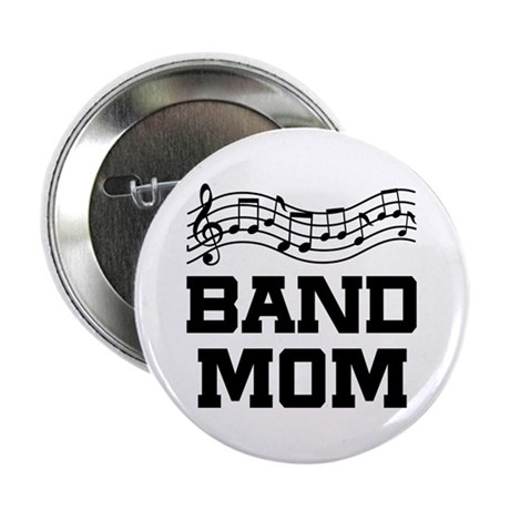 "Band Mom Staff 2.25"" Button"