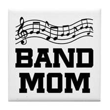 Band Mom Staff Tile Coaster