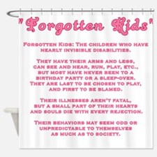 fkids2.png Shower Curtain