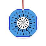 OYOOS Blue Moon design Ornament (Round)