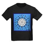OYOOS Blue Moon design Kids Dark T-Shirt