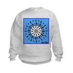 OYOOS Blue Moon design Kids Sweatshirt