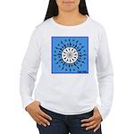 OYOOS Blue Moon design Women's Long Sleeve T-Shirt