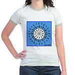 OYOOS Blue Moon design Jr. Ringer T-Shirt