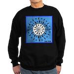 OYOOS Blue Moon design Sweatshirt (dark)