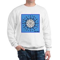 OYOOS Blue Moon design Sweatshirt