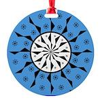 OYOOS Blue Moon design Round Ornament