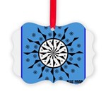 OYOOS Blue Moon design Picture Ornament