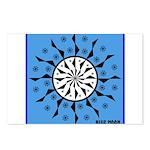 OYOOS Blue Moon design Postcards (Package of 8)