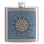 OYOOS Blue Moon design Flask