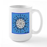 OYOOS Blue Moon design Large Mug