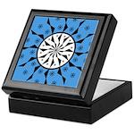 OYOOS Blue Moon design Keepsake Box