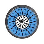 OYOOS Blue Moon design Wall Clock