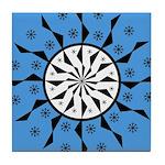 OYOOS Blue Moon design Tile Coaster