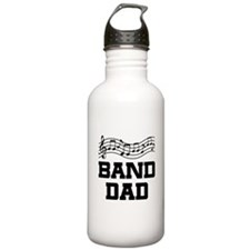 Band Dad Music Staff Stainless Water Bottle 1.0L