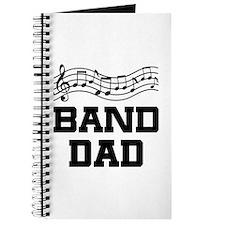 Band Dad Music Staff Journal