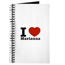 I Love Marianna Journal